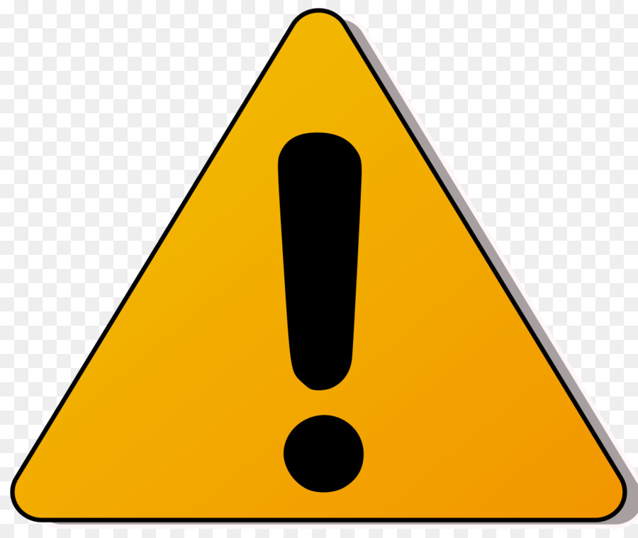 Warning sign transparent clip. Caution clipart triangle