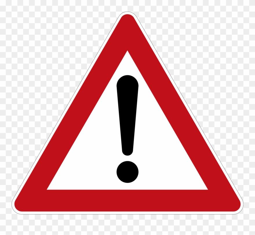 Caution clipart triangle. Nikolaus will gefahrenzulage red