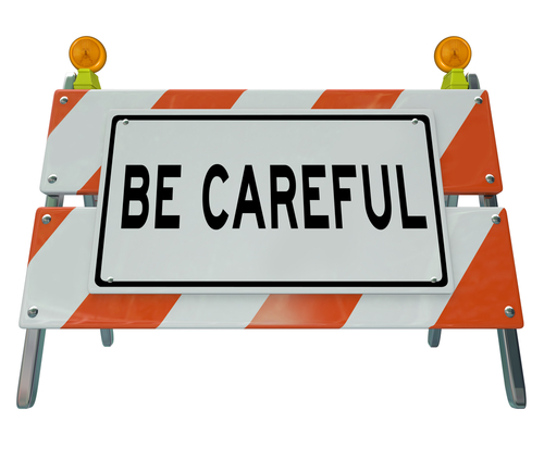 Caution clipart verbal warning.  steps for effective