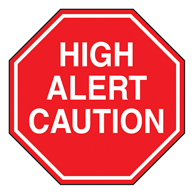 Search health care logistics. Caution clipart verbal warning
