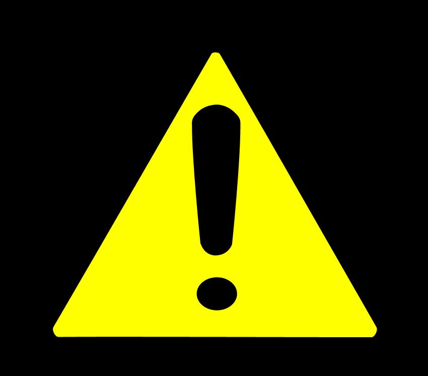 Caution clipart verbal warning. The hr documentation dilemma