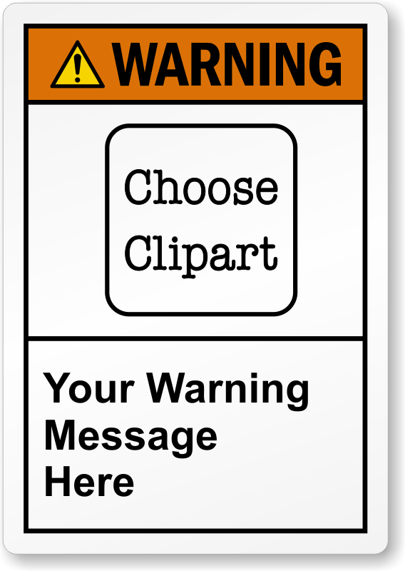 ansi safety labels. Caution clipart warning label