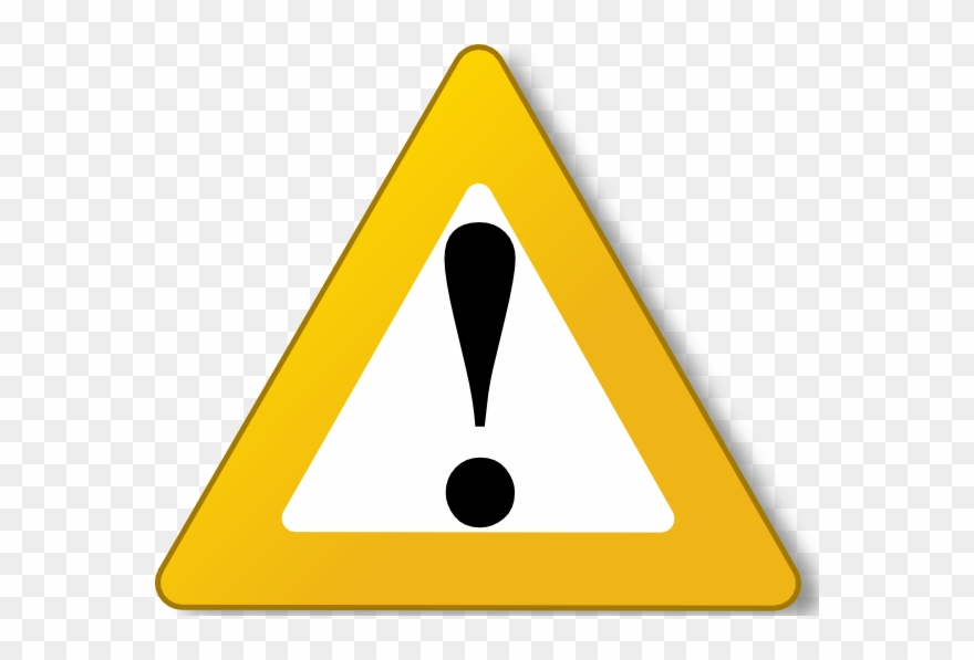 Triangle breakdown clipground . Caution clipart warning light