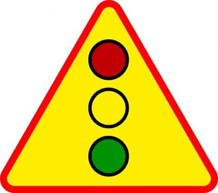 Caution clipart warning light. Sign panda free images