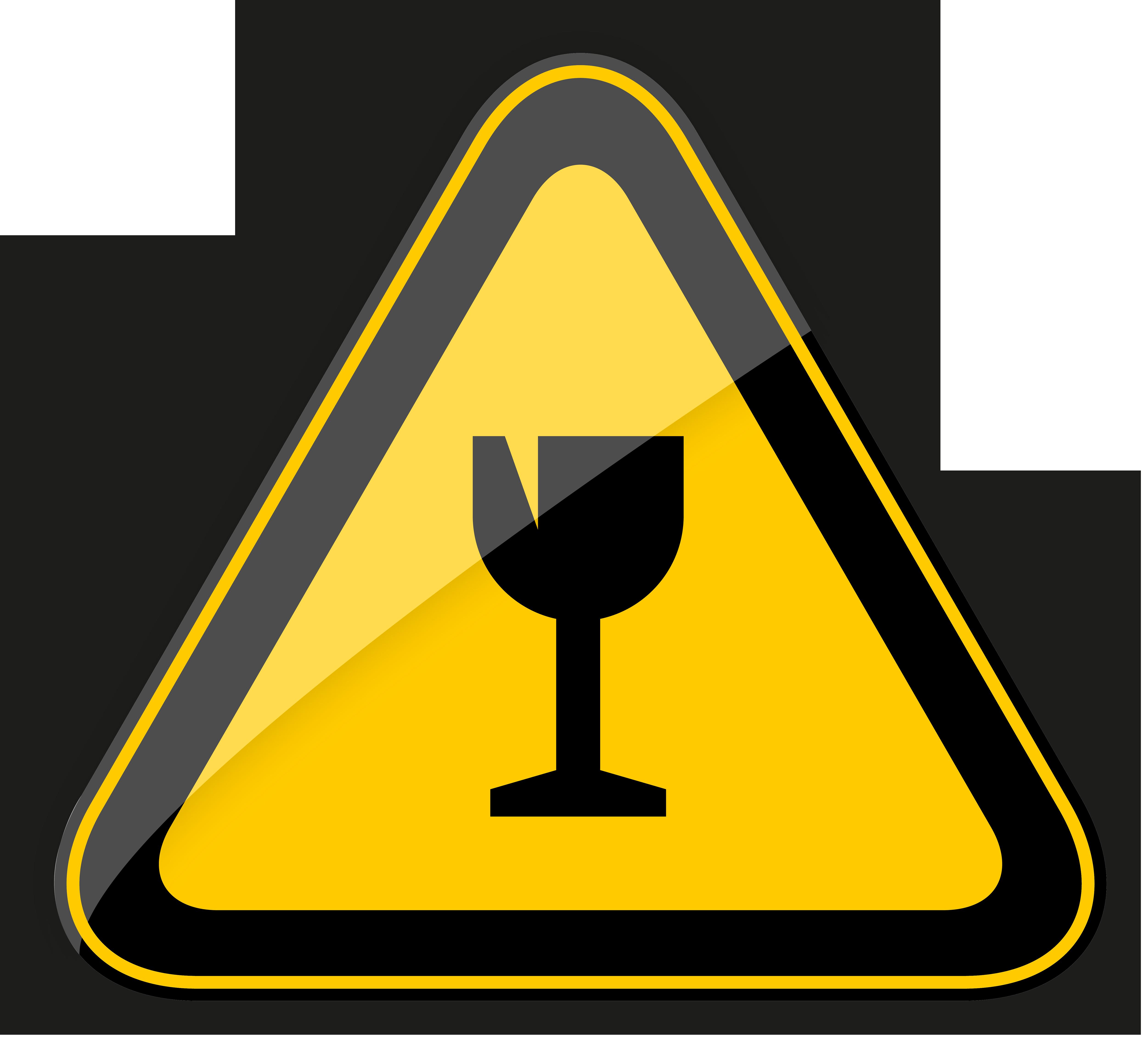 caution clipart warning light