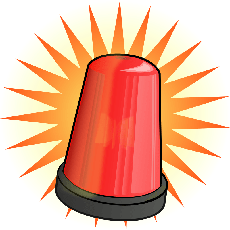Caution clipart warning light. Cliparts zone