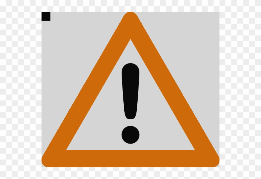 caution clipart warning triangle
