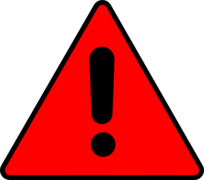 Caution clipart warning triangle. Clip art at clker