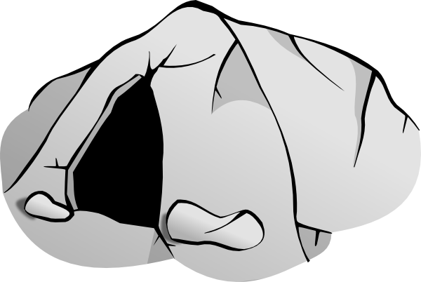 Clip art free panda. Cave clipart