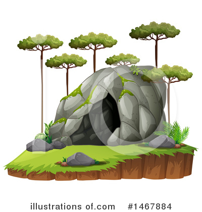 Illustration by graphics rf. Cave clipart