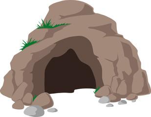 cave clipart bear cave