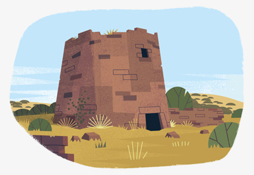 Cartoon earth building png. Cave clipart cave house