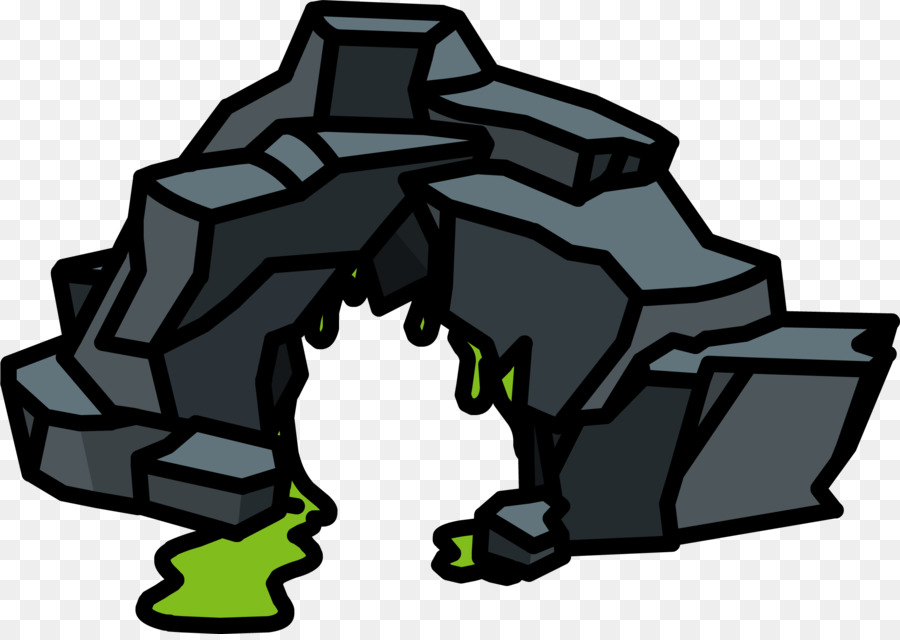 Club penguin haunted icon. Cave clipart cave house