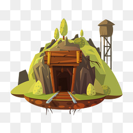 Cave clipart cave house. Png images vectors and