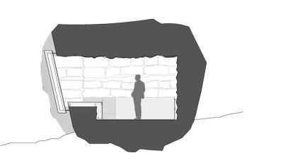 Stone plans unusual built. Cave clipart cave house