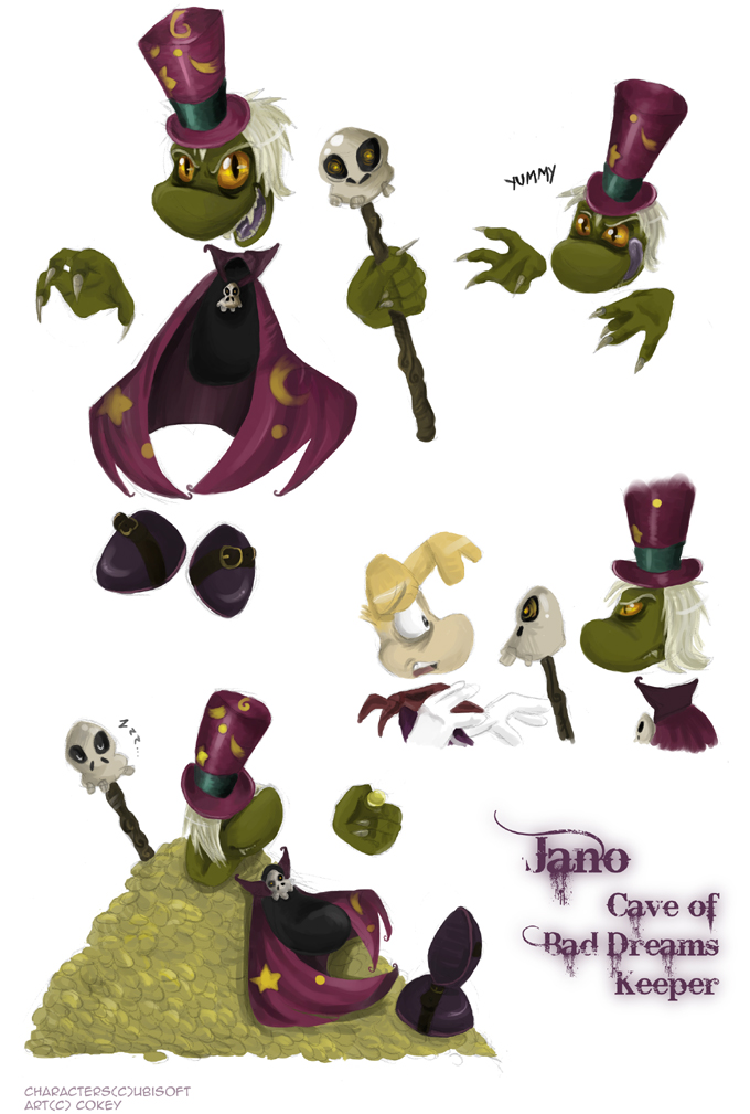 Jano the guardian by. Cave clipart creepy