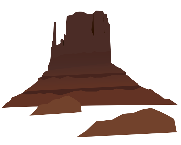 Clipart mountain shape. Cave free download best