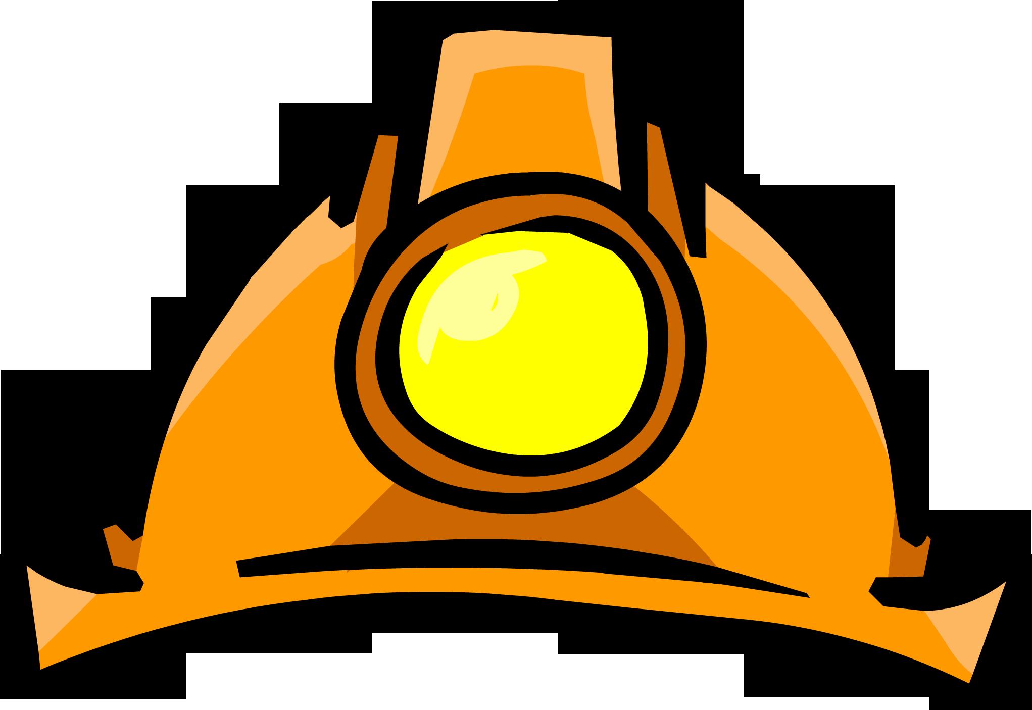 Miners helmet club penguin. Clipart hammer mining