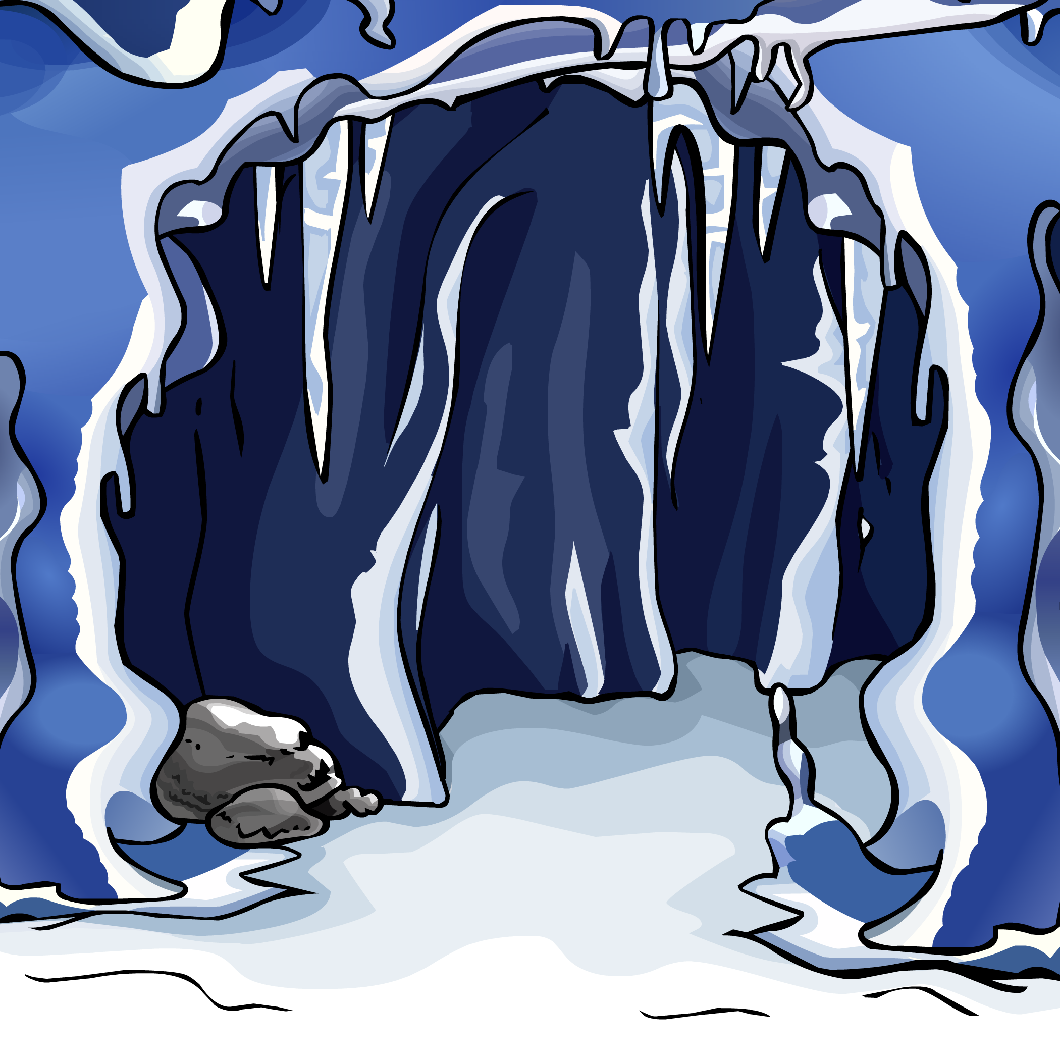 Cave ice cave