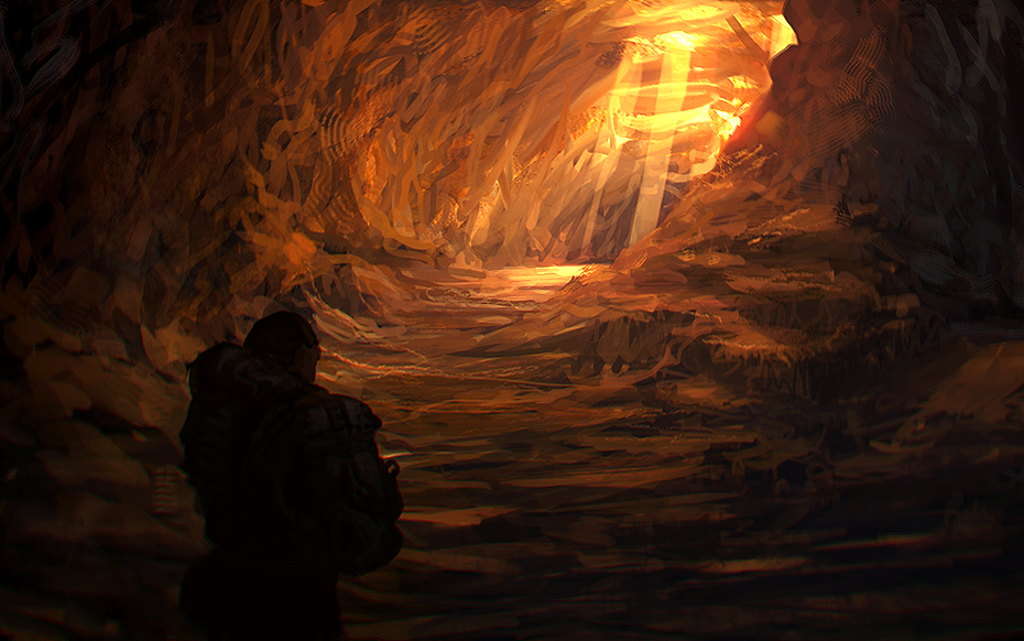 Cave clipart inside. The by llrobinll on