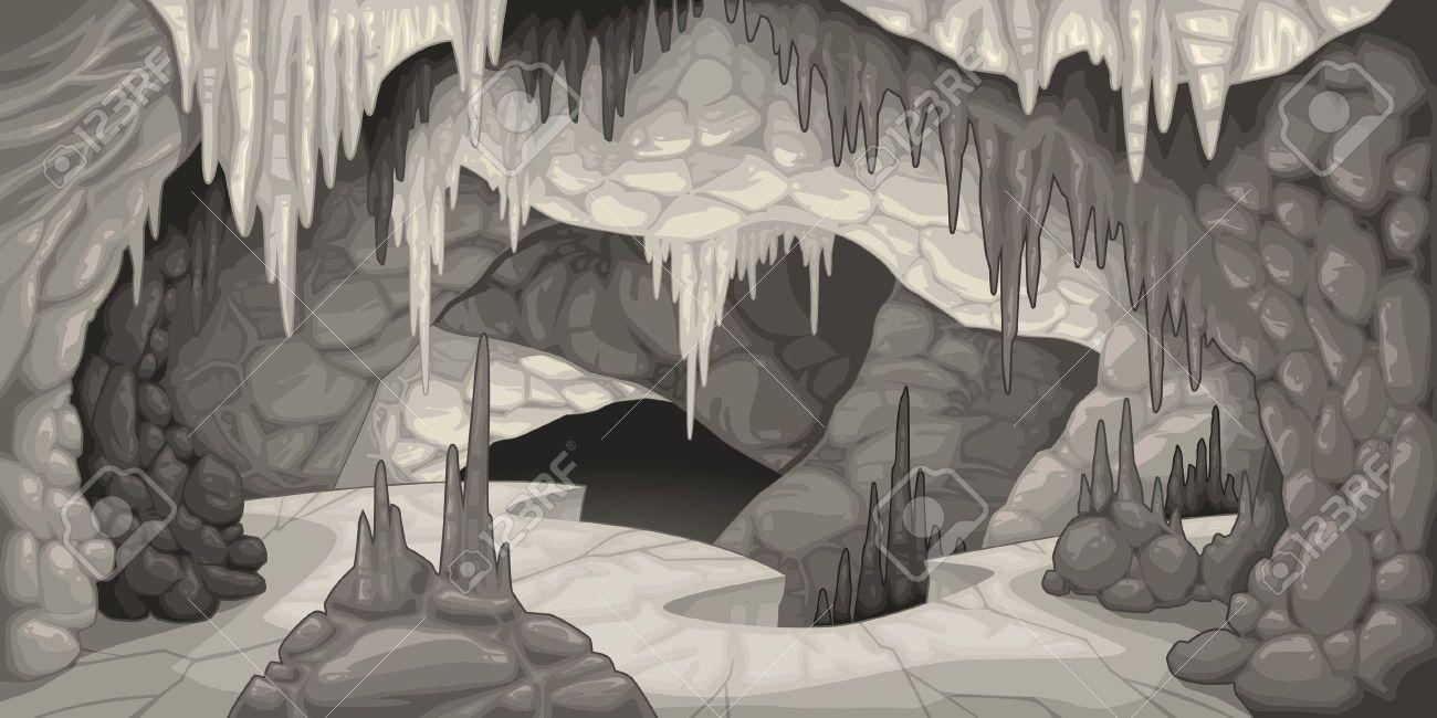 Cave clipart inside. Of a cartoon google