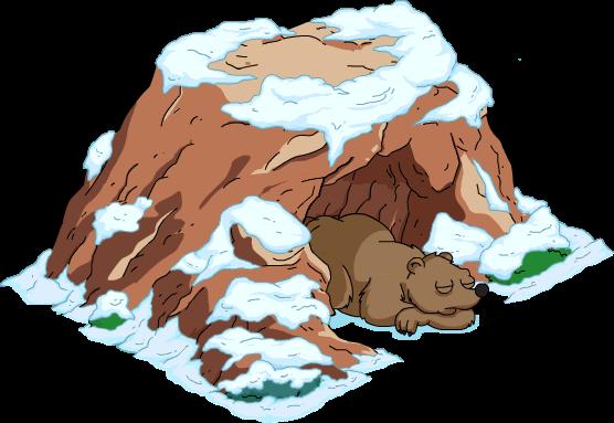 Cave clipart jungle cave. Ball fountain clipground bear