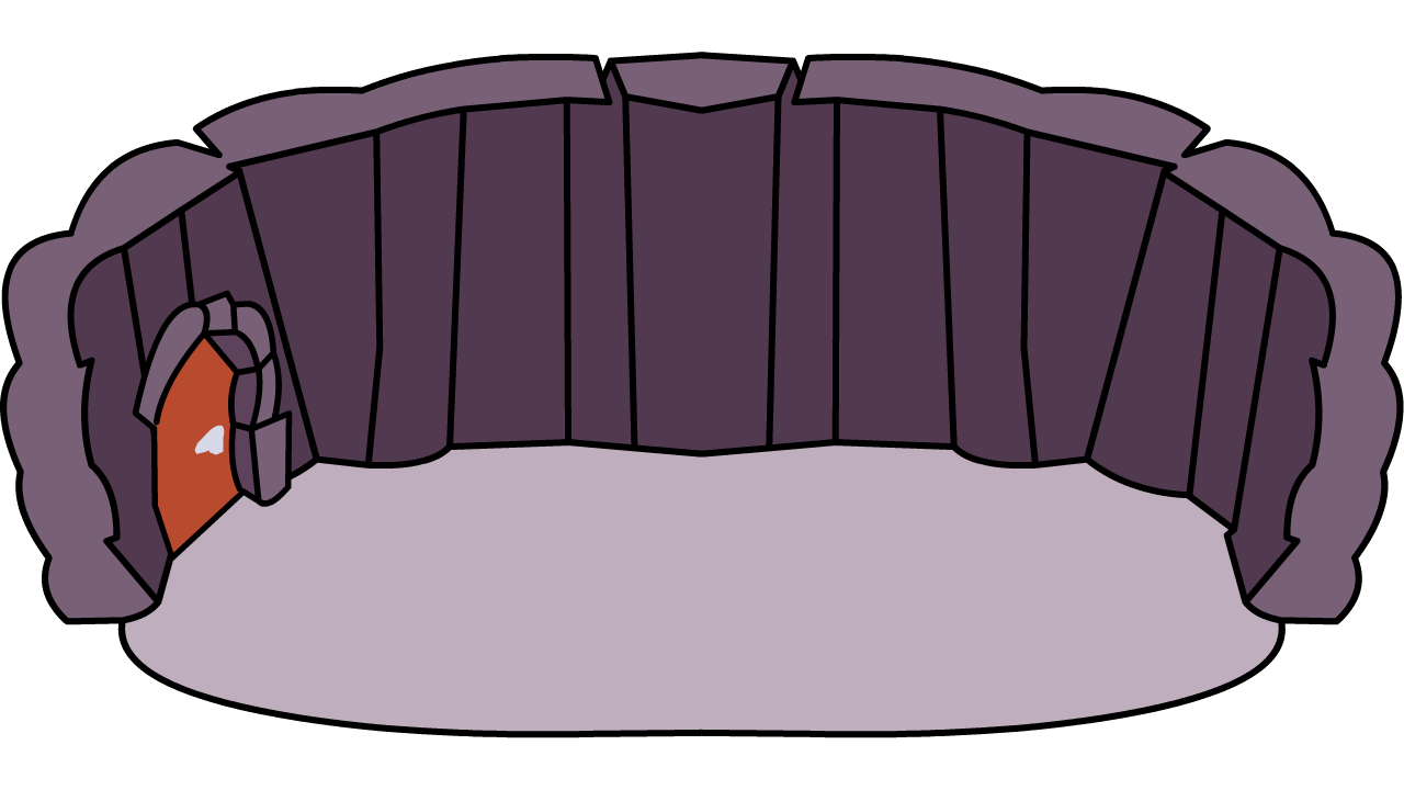 Igloo club penguin wiki. Cave clipart lair
