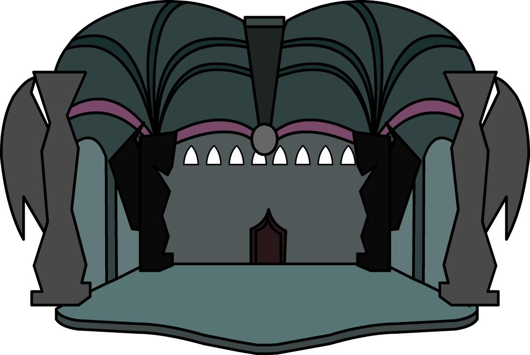 Dragon s club penguin. Cave clipart lair
