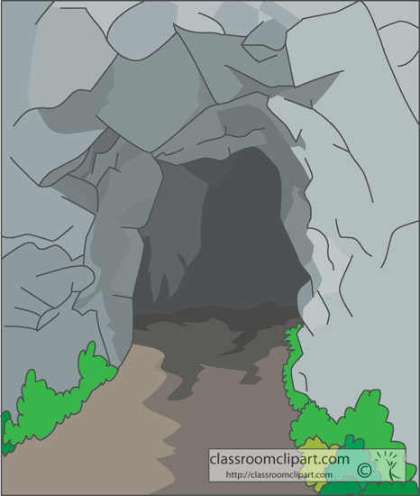 cave clipart mountain cave