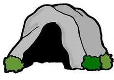 Cave clipart outline. Cartoon best extreme paleo