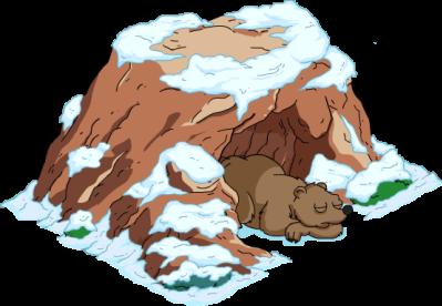 Cave clipart snow cave. Png dlpng com