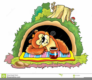 In free images at. Clipart bear cave