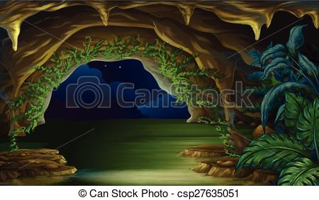 Panda free images. Cave clipart vector