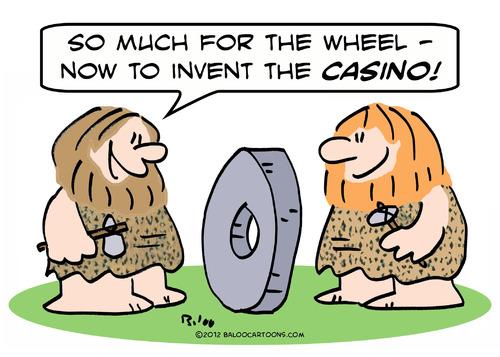 Invent casino by rmay. Caveman clipart caveman wheel