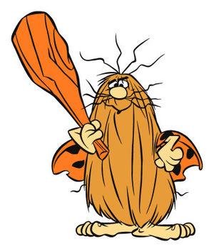 Captain hanna barbera wiki. Caveman clipart flintstones