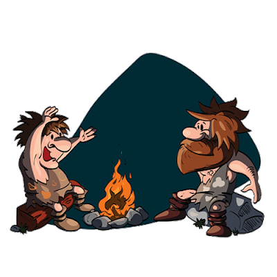 Caveman clipart group. Cartoon image png height