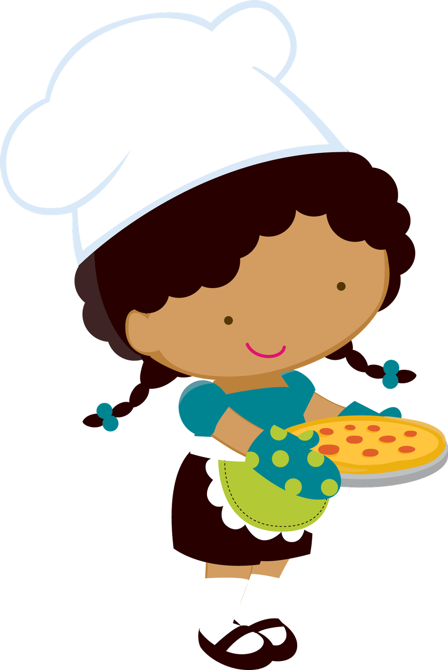 Kid clipart pizza. Minus say hello kids