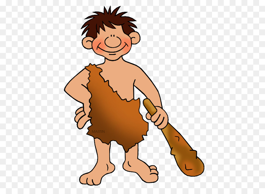 Caveman clipart neanderthal. Homo sapiens early human