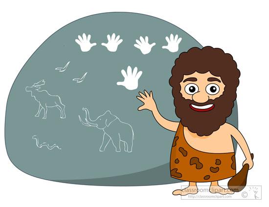 History prehistory writings on. Caveman clipart prehistoric