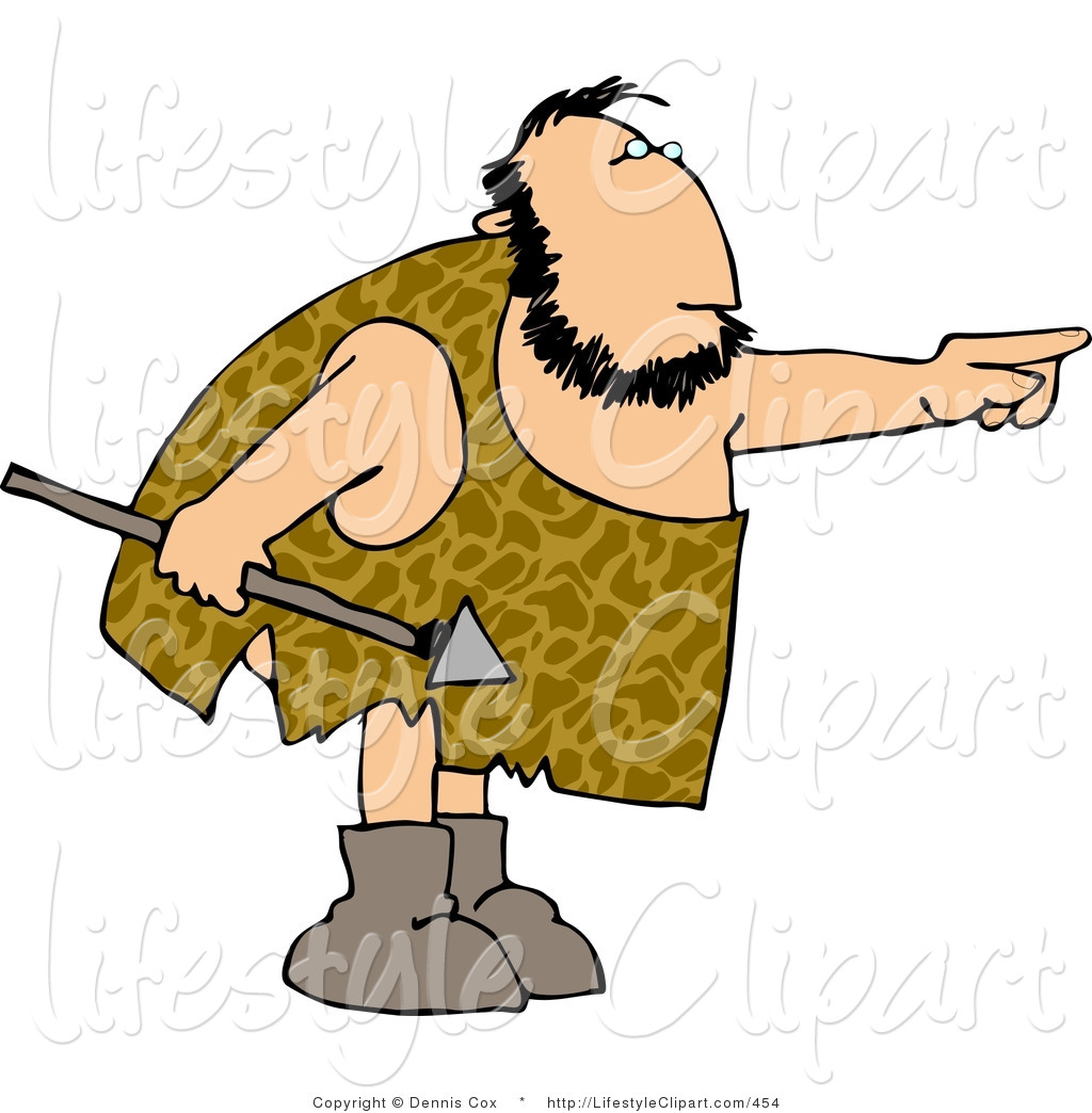 Panda free images spearclipart. Caveman clipart spear