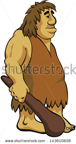 Caveman clipart spear. Muscular free collection download