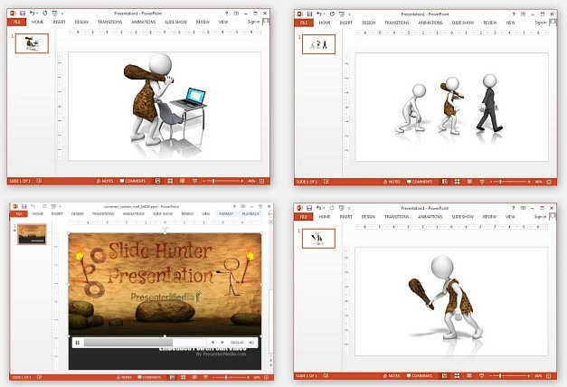 And video animation for. Caveman clipart technology