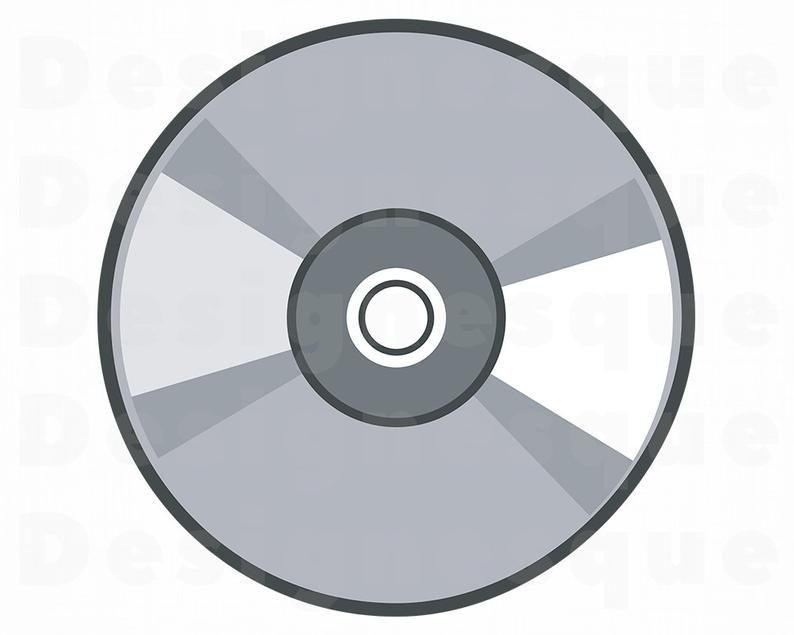 Svg compact disk game. Cd clipart