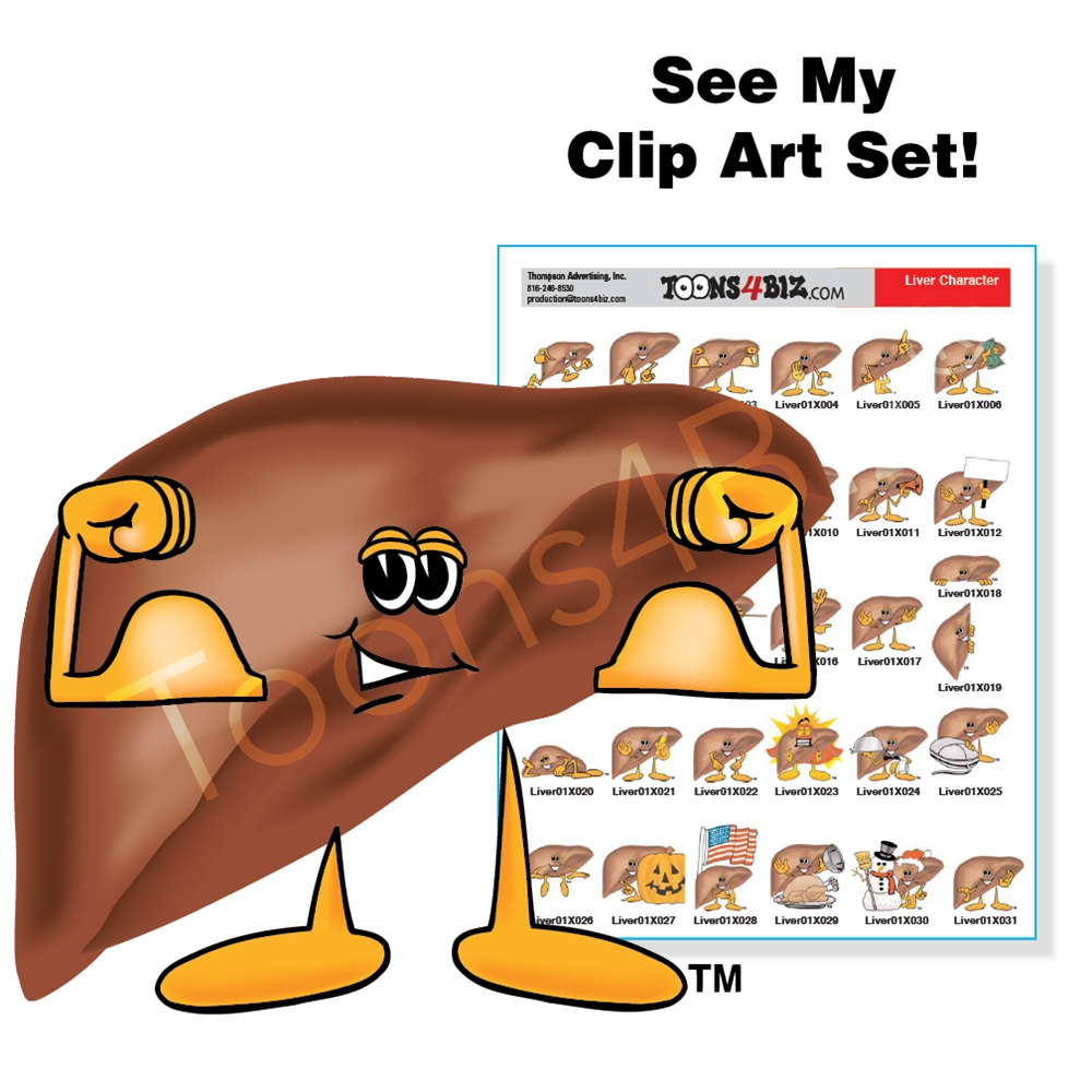 Cd clipart animated. Cartoon doctor liver clip