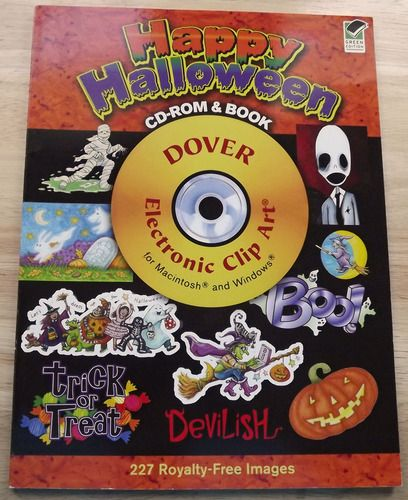 Cd clipart book. Halloween no featured pinner