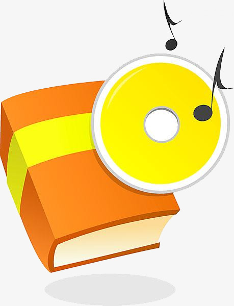 Books and cds drawing. Cd clipart cartoon
