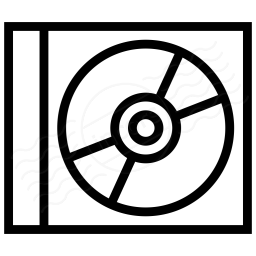 Cd clipart case clipart. Iconexperience i collection icon