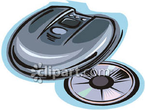 And royalty free picture. Cd clipart cd player