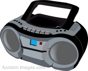 Station . Cd clipart cd player