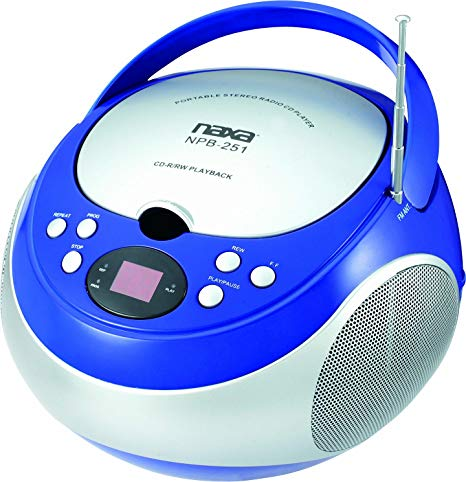 Boombox clipart cd player. Amazon com naxa electronics